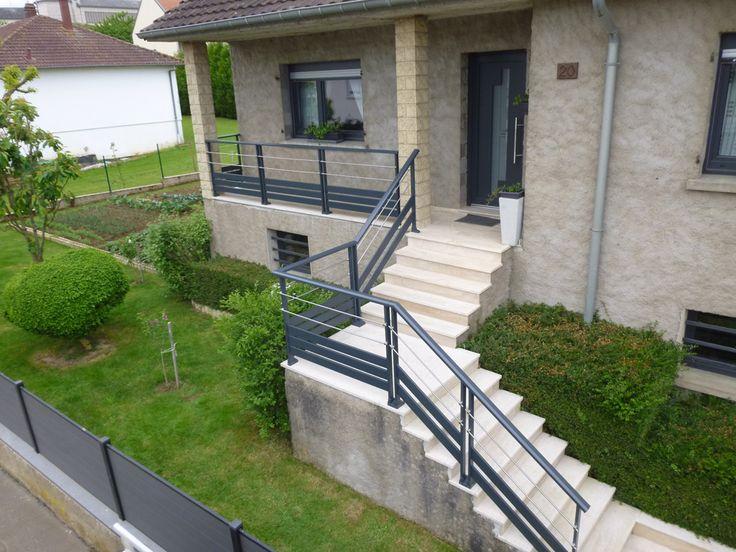 Balustrade terrasse exterieur for Modele de terrasse exterieur