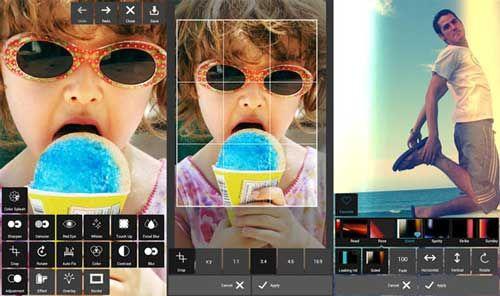 Un excelente editor de fotos para Android con muchos efectos: Pixlr Express