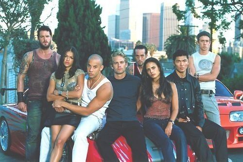 Fast and the Furious family