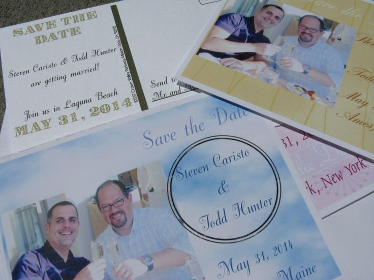 Gay Marriage Wedding Invitations: 81 Best Gay Wedding Invitations Images On Pinterest