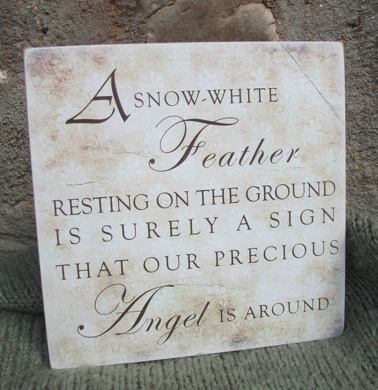 Snow White Feather, memorial, remembrance, love, family, home - handmade plaque