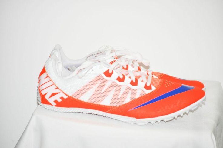 Nike Zoom Rival S 7 Men Orange Blue Track Sprint Spikes 616313-841 size 13 NEW #Nike #TrackSpikes