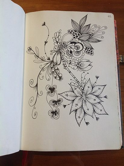 Zentangle by Alycia Rowe