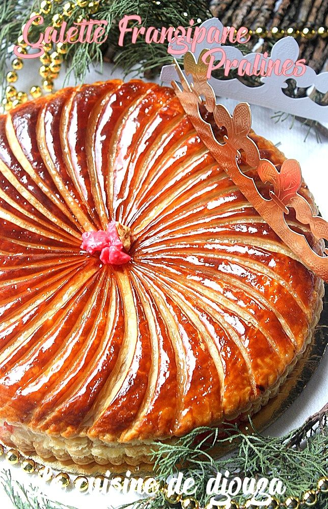 Galette Aux Amandes Et Pralines Roses Recette Boulange Beignet