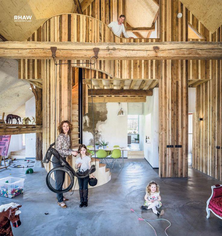 Rhaw Architecture Architectuur Hergebruikte Materiaal