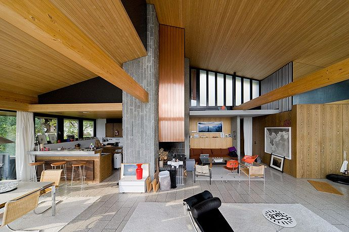Rentsch House 1964 | Wengen, Switzerland | Architect: Richard Neutra 1