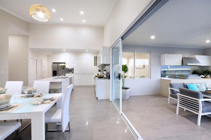 Stylish and smart, indoor outdoor living! Elegant family home. Image: Fernbank 262, Gladstone display home. See more: http://www.gjgardner.com.au/offices/gladstone-3550/display-homes/fernbank-262-398.aspx