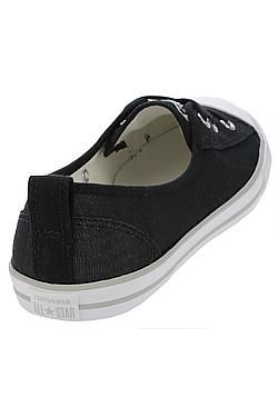 boty Converse Chuck Taylor All Star Ballet Lace Slip - 555869/Black/White/Mouse