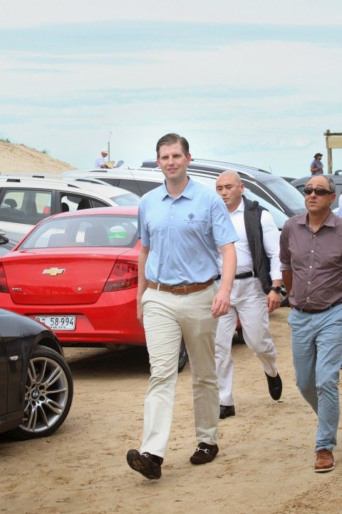 "Secret Service and embassy staffers provided security for the ""VIP visit"" to a coastal resort town."