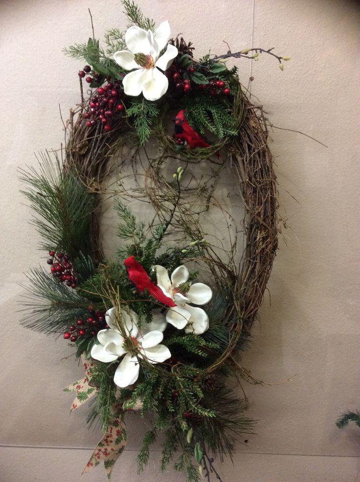 Magnolia Wreath, Y'all.............