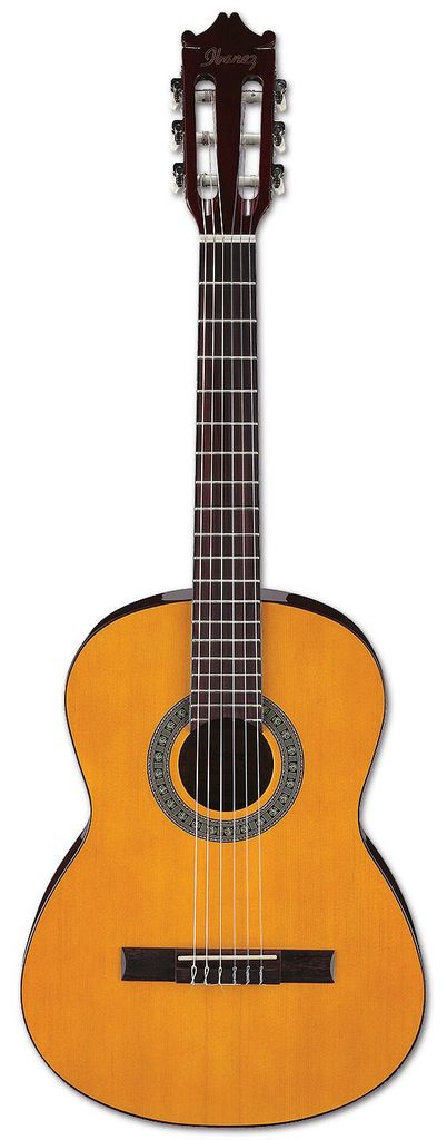 Ibanez GA3 Classical Acoustic Guitar - Amber High Gloss Ibanez classical guitars take the guesswork out of finding an affordable, great-sounding classical guitar that's easy to fret and play. Whether