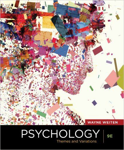 14 best psychology images on pinterest test bank for psychology themes and variations 9th edition weiten fandeluxe Images