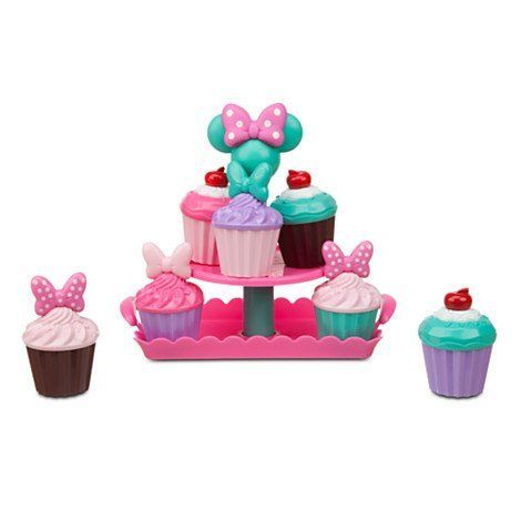 Disney Minnie Mouse Cupcakes in Paris Sweets Play Food Set * You can get additional details at the image link.