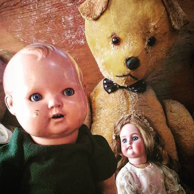 Antique composition haunted doll Foreign HV 102/40 dolls toy toys oddities goth gothic victorian antico bambolotto in composizione di studyartantique su Etsy