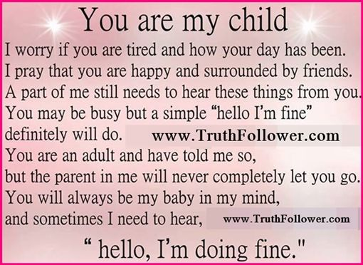My Promise to My Children - Having Children Quotes - I Love You, For My Child, Family Quote about Love