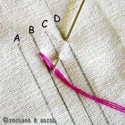 Great embroidery tutorials for all kinds of stitches