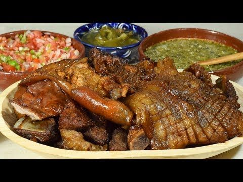 CARNITAS Estilo Michoacán receta original para negocio - YouTube