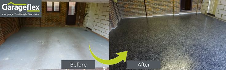 A standard garage floor is not very attractive.  Especially if its bare concrete that's creating dust or peeling paint.  The Garageflex Resin Floor is a great solution for your garage floor as its easy to clean, seamless and won't yellow or fade.