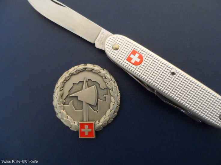 Wenger Swiss Army Soldier Knife 1991 - Swiss Army Beret Patch