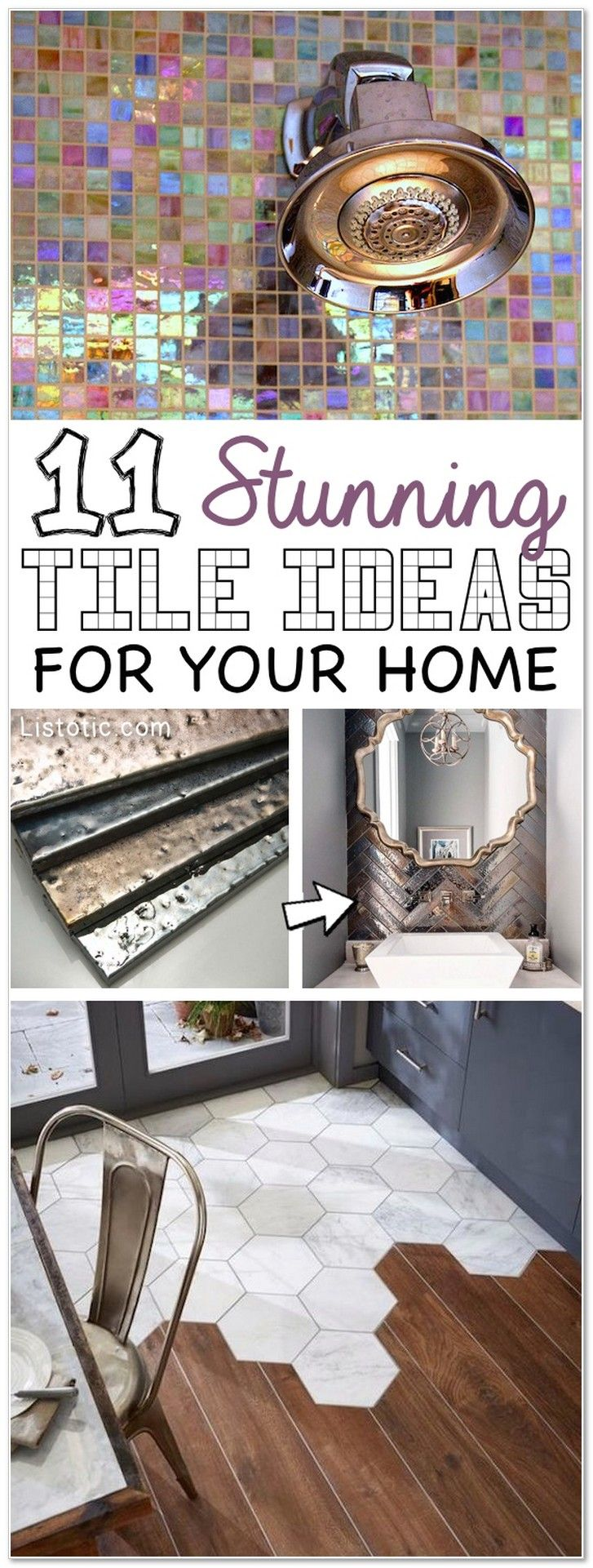 11 Stunning Tile Ideas For Your Home