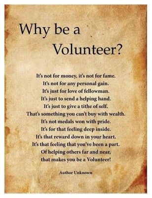 how does volunteering make you feel - Google Search