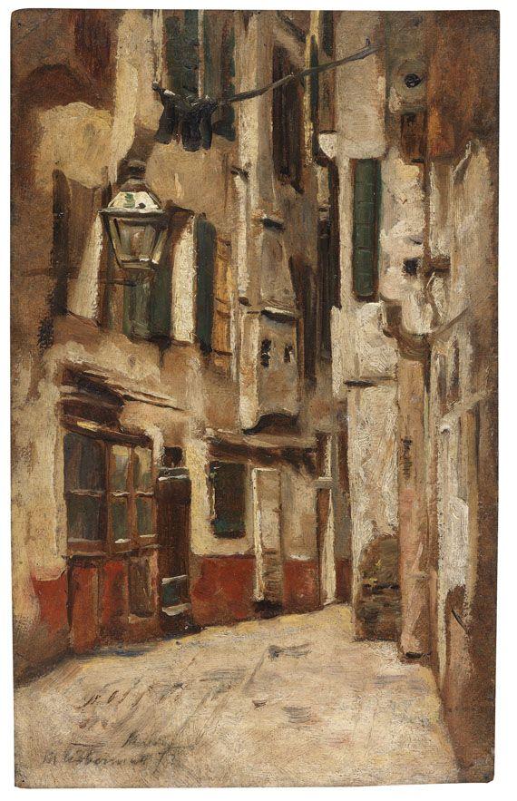 Venetian Alley Max Liebermann.