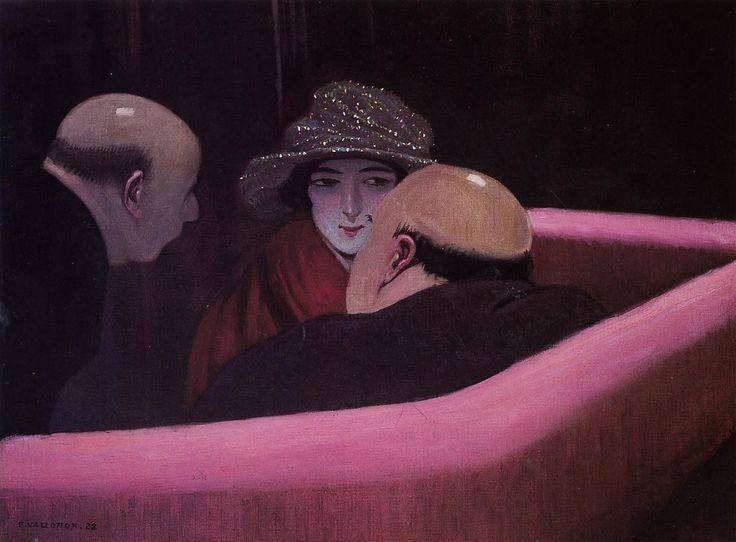 "transistoradio: "" Felix Vallotton, Chaste Suzanne (1922), oil on canvas. Collection of Musée des Beaux-Arts, Lausanne, Switzerland. Via WikiPaintings. """