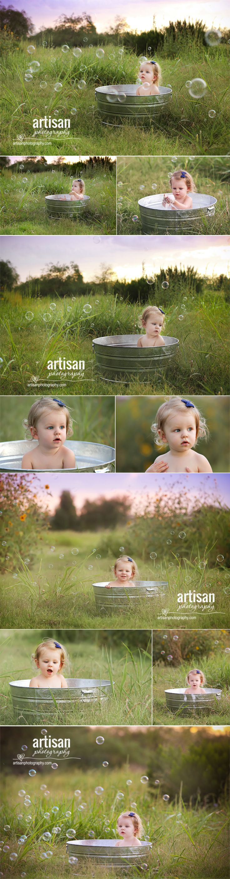 ArtisanPhotography.com bubble bath photoshoot. Carlsbad family photographer. California.