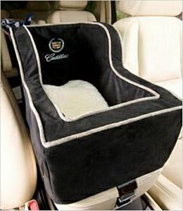 Cadillac High-Back Console Pet Car Seat