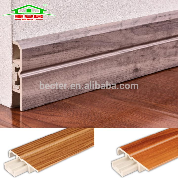 China Factory Price Pvc Skirting Board In Flooring Accessories