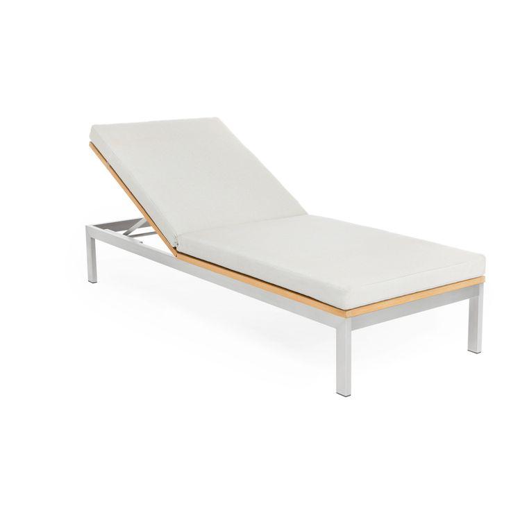 Les 25 meilleures id es concernant transat chaise longue for Chaise longue de jardin en teck