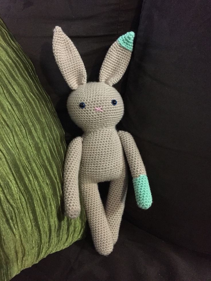 My mr bun. Crochet amigurumi rabbit bunny. Pattern available here http://www.ravelry.com/patterns/library/the-adorable-bun
