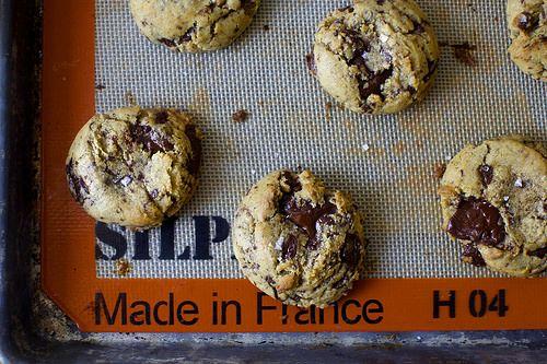 salted chocolate chunk cookies