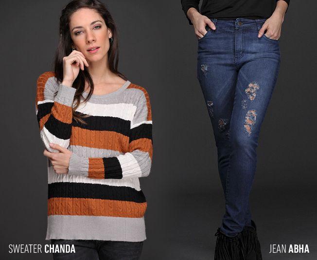 Frío #trendy... ⛄ ¿Qué te parece este #look para enfrentar los días fríos con estilo? #Tendencias