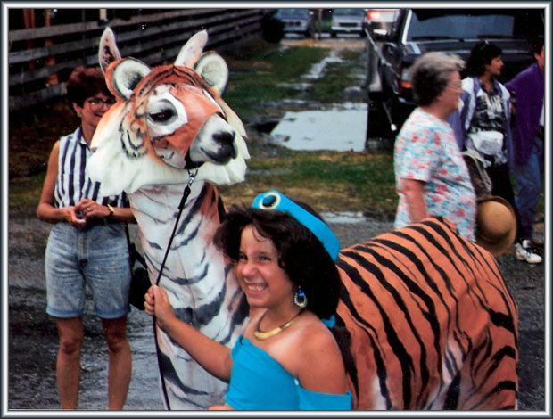 how to make cardboard costumes llama