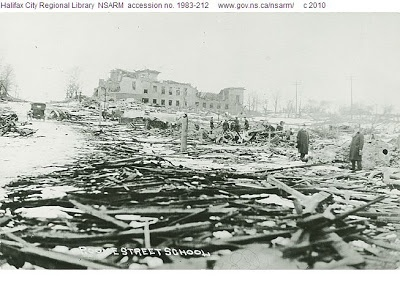 the destruction of the Halifax explosion