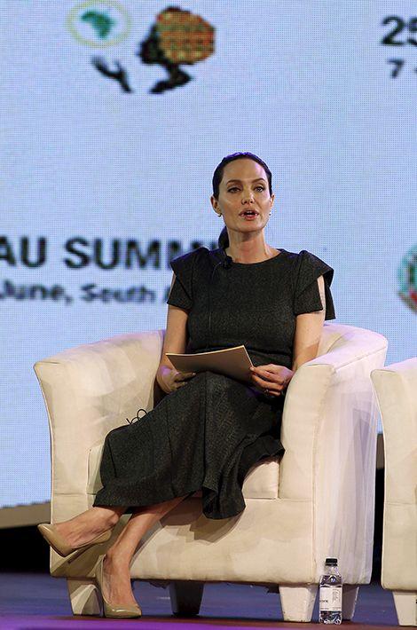 Angelina Jolie au sommet de l'Union africaine