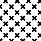 Black Crosses by createstyledecorate, click to purchase fabric