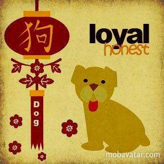 My Chinese Zodiac symbol...surprise, surprise!