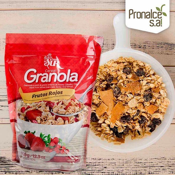 Prepara esta y todas las mañanas el mejor y más nutritivo desayuno con #GranolaPronalce, adiciona leche o yogur, una fruta y a disfrutar.    #Pronalce #Avena #Wheat #Trigo #Cereal #Granola #Fit #Oats #ComidaSaludable #Yummy #Delicious #Tasty #Instagood #Delicioso #Sano #HealthyFood #Breakfast #Protein #Nutrición #Cereales