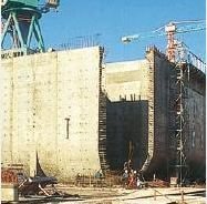 Nkossa barge, oceanic production and oil storage, concrete shell, honeycomb structure, http://yook3.com, Wilfried Ellmer