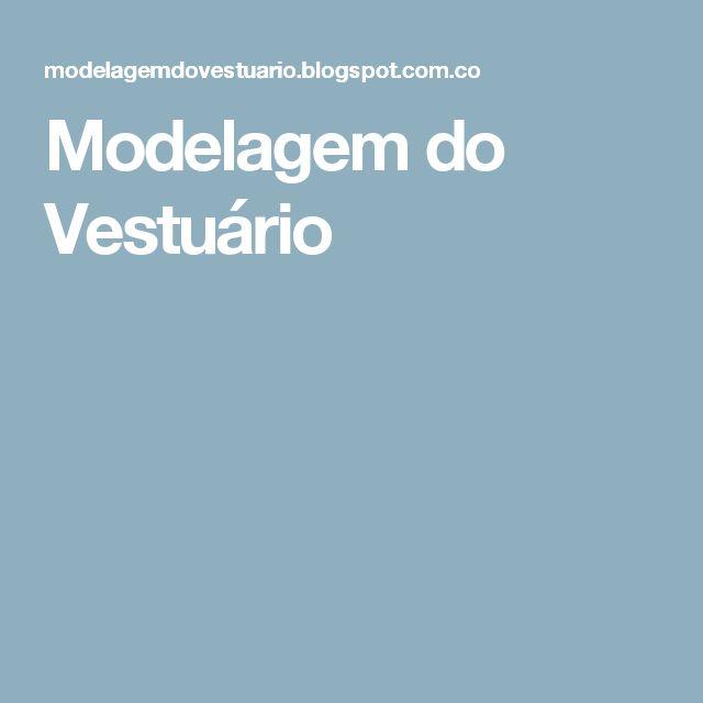 Modelagem do Vestuário
