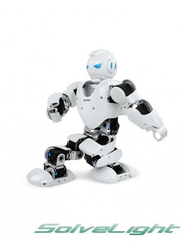 UBtech Alpha Humanoid Intelligent Robot has 16 degree of freedom (DOF), 5 DOF each for left and right leg, 3 each for left and right hands, able to perform multiple complex movements, for example, push-ups, forward roll, backward roll, handstand, high leg kick etc. #robot #humanoid #robothumanoid #robots #robotics #robot #kit #robotic #kit #diy #robot #duyrobotickit #diyrobot #robotickit #kitrobot #robotforeducation #robot #for #kids #robotforkids #robotic #toy #robotictoy #robottoy