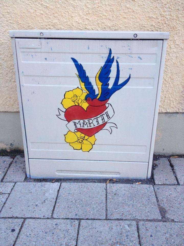 Street art at Turku