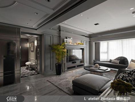 INTERIOR | Neoclassical Beauty - 41평 네오클래식컬 아파트 인테리어 :: 더하우스