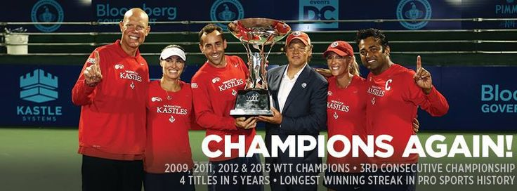 Washington Kastles. #CHAMPIONS! #REFUSEtoLOSE