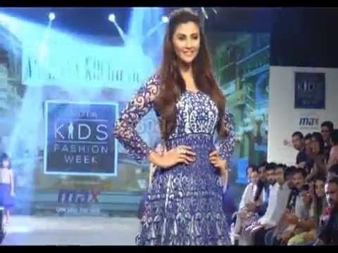 Daisy Shah, Mika Singh & Other Walk The Ramp With Cute Little Kids At In...