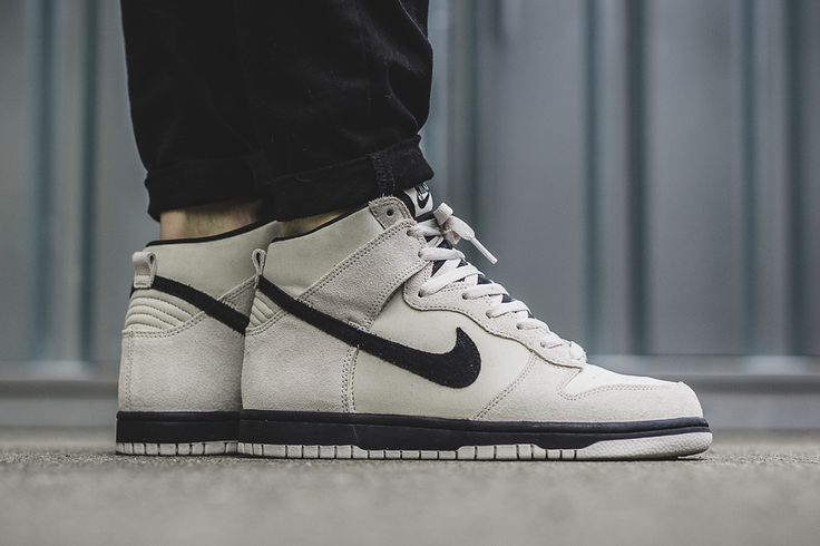 "Nike Dunk Hi ""Light Bone/Black"" - EU Kicks Sneaker Magazine"