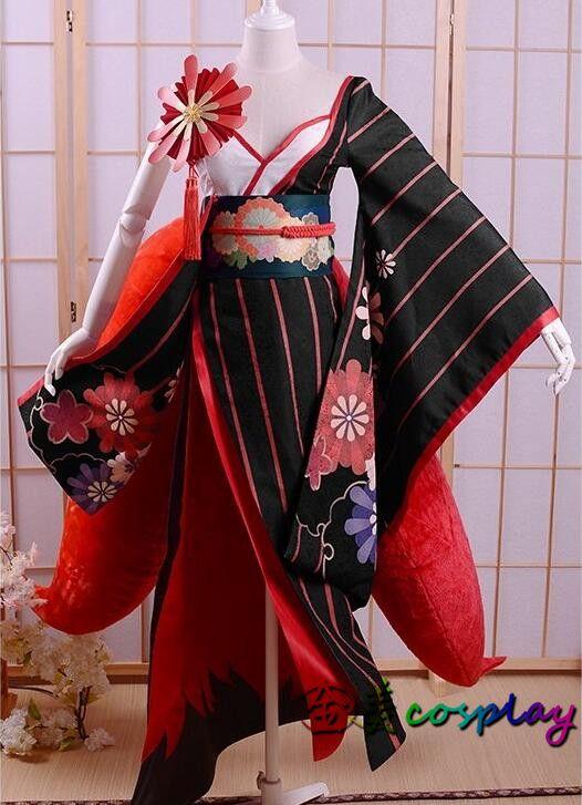 COSPlAY Mobile Game Onmyoji Savfox Shikigami Japanese style Cos Clothes