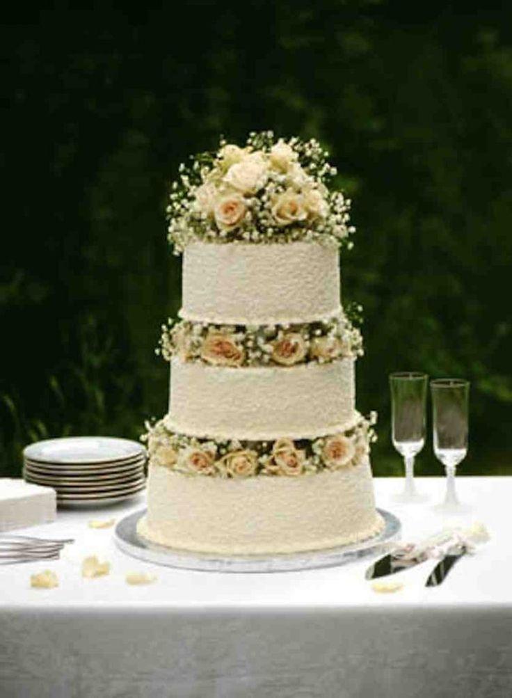 Homemade Wedding Cake Ideas